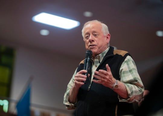 Former Tennessee Governor Phil Bredesen speaks to Memphis interfaith advocacy group MICAH at a call-to-action meeting for statewide candidates and local elected officials Sunday, Oct. 21, 2018. He floated his prescription plan to small group at the Madison Pharmacy inside Crosstown Concourse at a separate event on Monday.