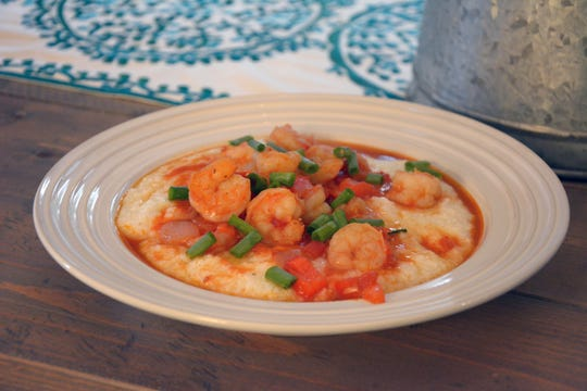 The Cajun flavor of this shrimp 'n' grits is a nice variation from the cheesy grits you usually find.