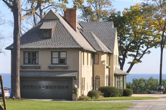 """John Brodersen plans to demolish the """"Herman Reel house"""" at 4640 N. Lake Drive. The house is one of four homes designated as historic by the Whitefish Bay Historic Preservation Commission."""