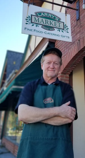Jim Cook is the new chef at Larry's Market, 8737 N. Deerwood Drive in Brown Deer. Cook previously oversaw the catering kitchen at the Milwaukee Art Museum.