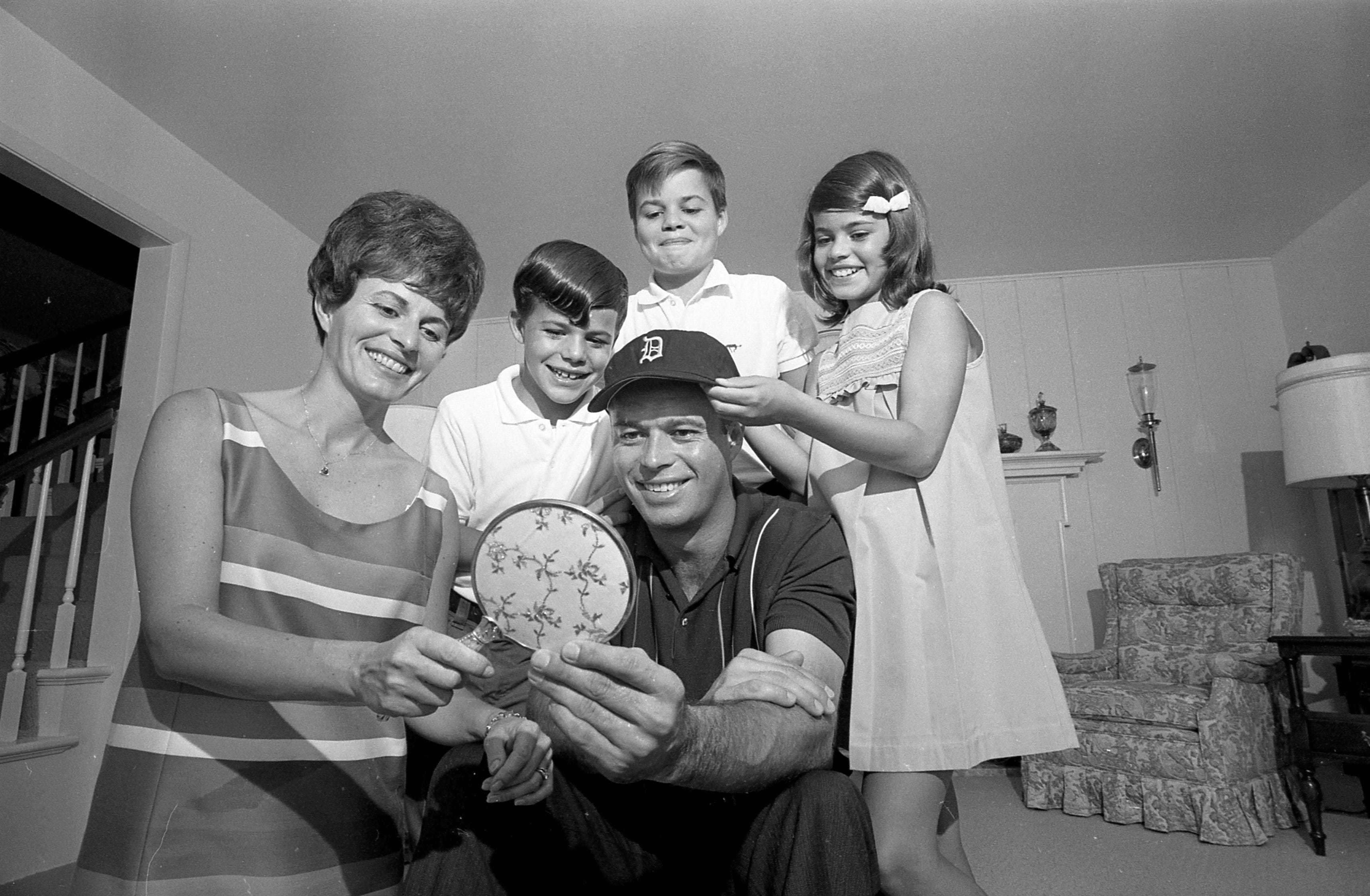 Eddie Mathews in 1968