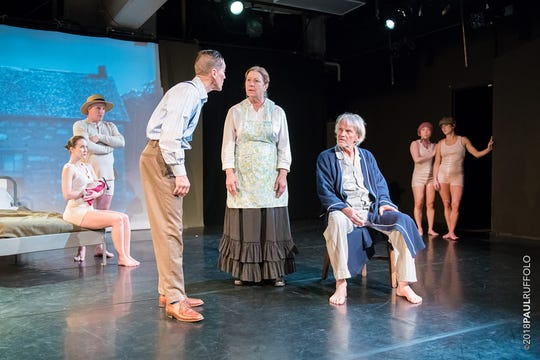 """Danceworks Performance Company and Theatre MXT perform """"Against the Grain: The Life & Times of Levi Fisher Ames"""" through Oct. 28 at Danceworks Studio Theatre, 1661 N. Water St."""