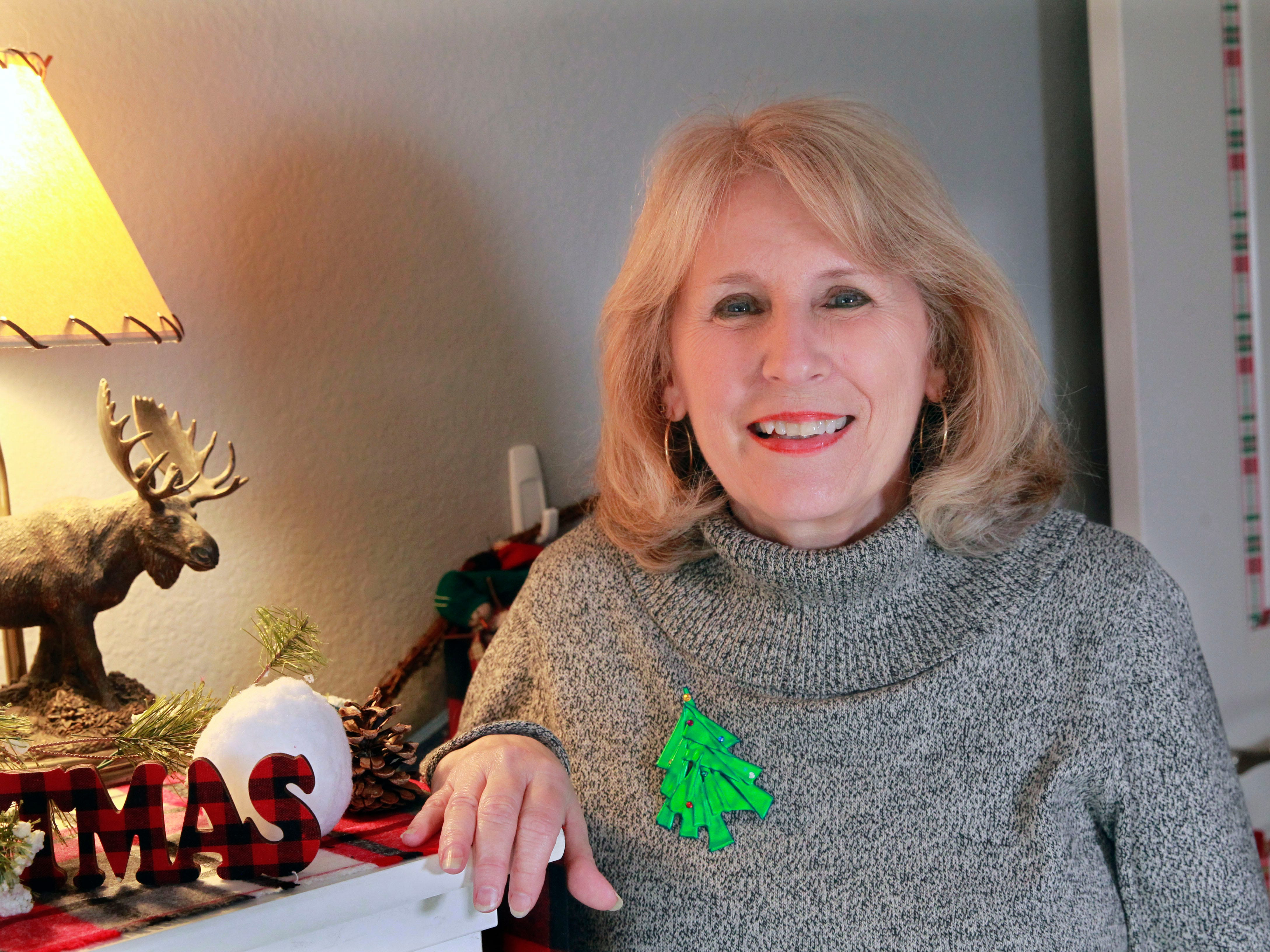 Nikki Bruneau, working with Nancy Buntrock, decorated a child's room with a snow day theme.
