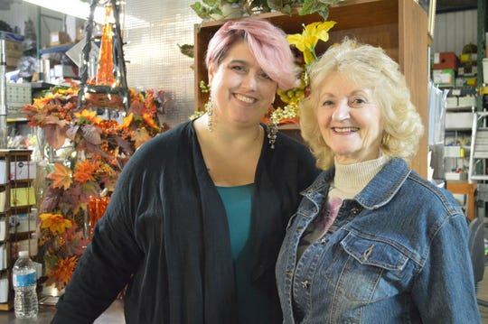 Kimberlee Grob's mother, Judie Sanger, introduced her to the floral industry.