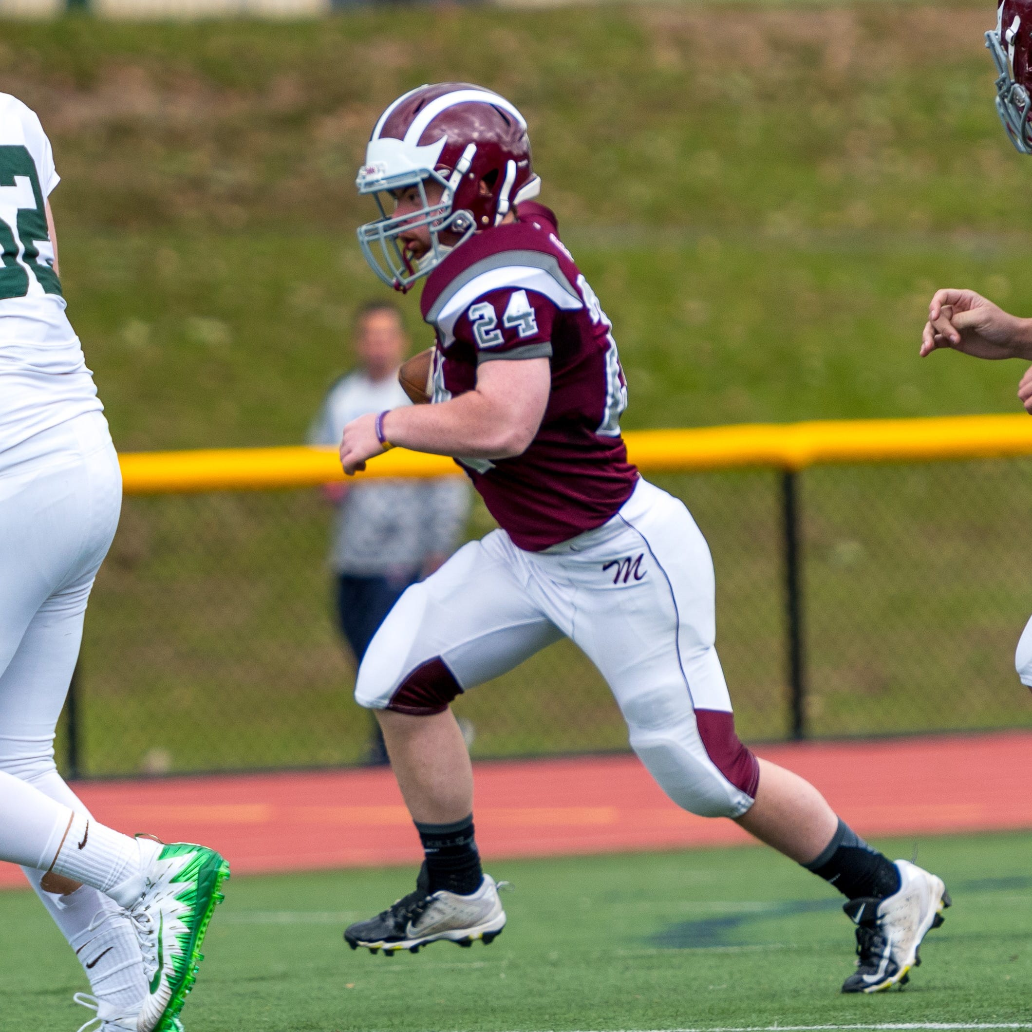 Morristown football player with Down syndrome scores touchdown