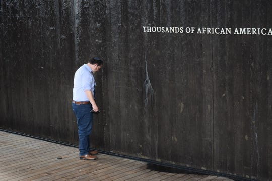 The group T'ruah: The Rabbinic Call for Human Rights, visited the National Memorial for Peace and Justice in Montgomery on Oct. 16-8, 2018.