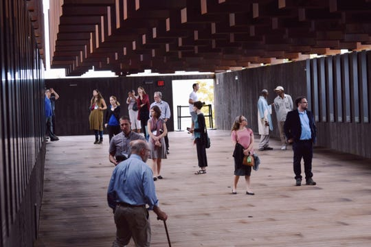 The New York group T'ruah: The Rabbinic Call for Human Rights, visited the National Memorial for Peace and Justice in Montgomery on Oct. 16-8, 2018.