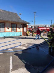 Murfreesboro Fire Rescue Department responded to a fire Sunday morning, Oct. 21, atAzteca Mexican Grill, 301 N.W. Broad St. in Murfreesboro.