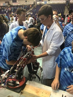 Rutherford County student teams win top honors at national BEST Robotics competition.