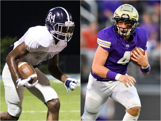 FRA's Lance Wilhoite (left) and CPA's Kane Patterson (right)