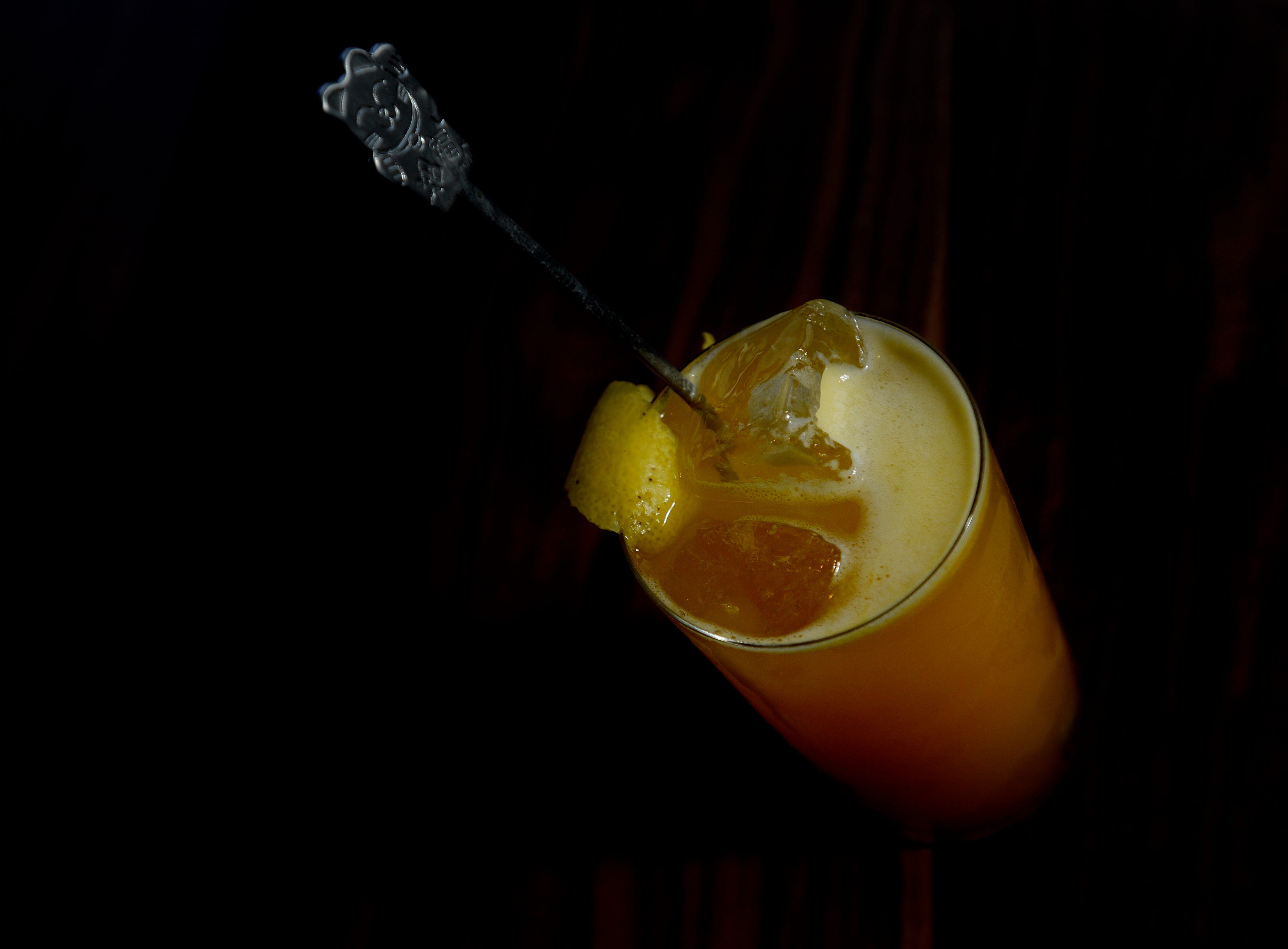A passion fruit Chu-Hi drink is available at The Green Pheasant, a new Japanese restaurant in SoBro.