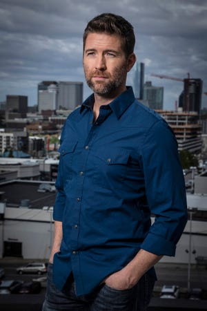 """Josh Turner's first faith-based album, """"I Serve a Savior,"""" will be in stores Oct. 26."""
