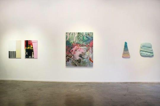 """Contemporary Art Nashville,"" installation view."
