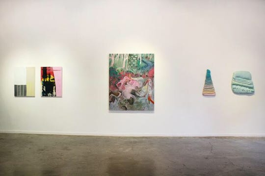 """Contemporary Art Nashville,"" installation view."