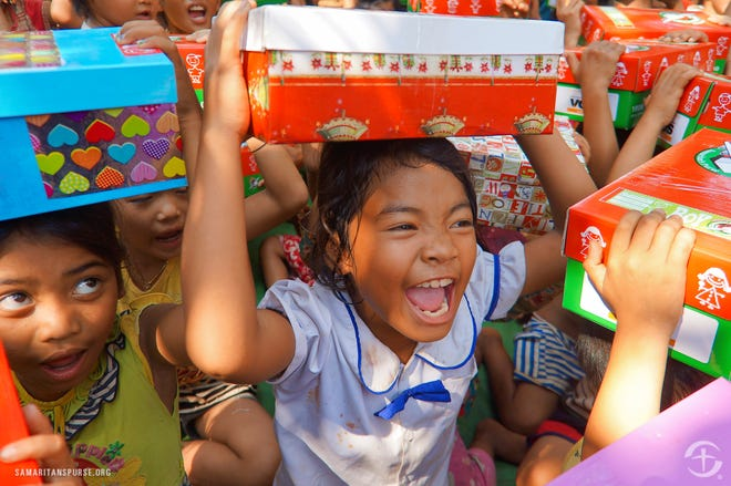 Operation Christmas Child is a project of Samaritan's Purse, an international Christian relief and evangelism organization headed by Franklin Graham.