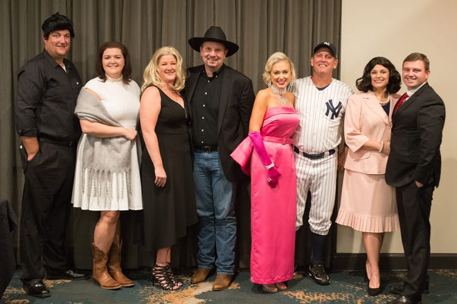 Attendees got in character for the Humane Society of Sumner County's Puttin' on the Dog/Cat Gala at the Bluegrass Yacht and Country Club in Hendersonville on Saturday, Oct. 20.