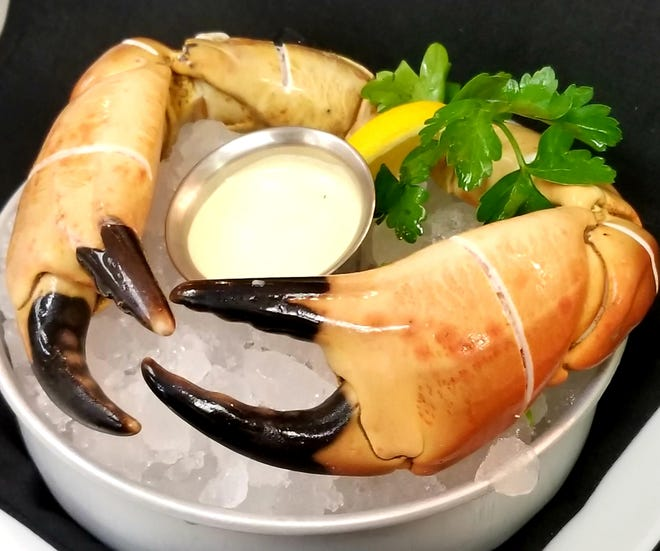 Ocean Prime Naples is offering colossal rock crab claws for $45 a pound.