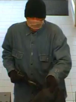 Hackensack police are searching for a suspected bank robber who took about $10,000 from the Valley National Bank on Hackensack Avenue Oct. 20, 2018.