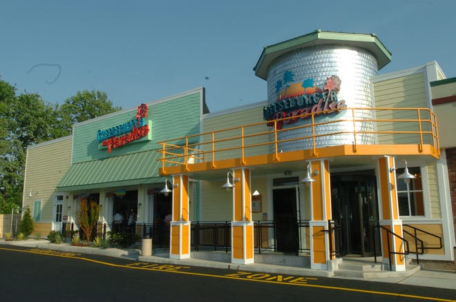 The Cheeseburger in Paradise in Secaucus is the last of its kind.
