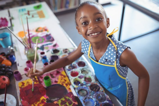 Art is another way to incorporate mindfulness practices into a child's everyday life.
