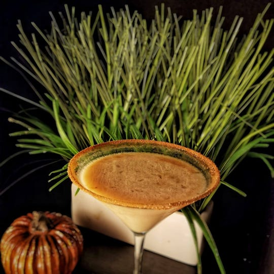 Enjoy a pumpkin martini at Morris Tap & Grill on Thanksgiving.