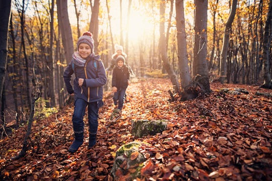 There are plenty of ways to incorporate mindfulness practices into a child's everyday life, including hiking.