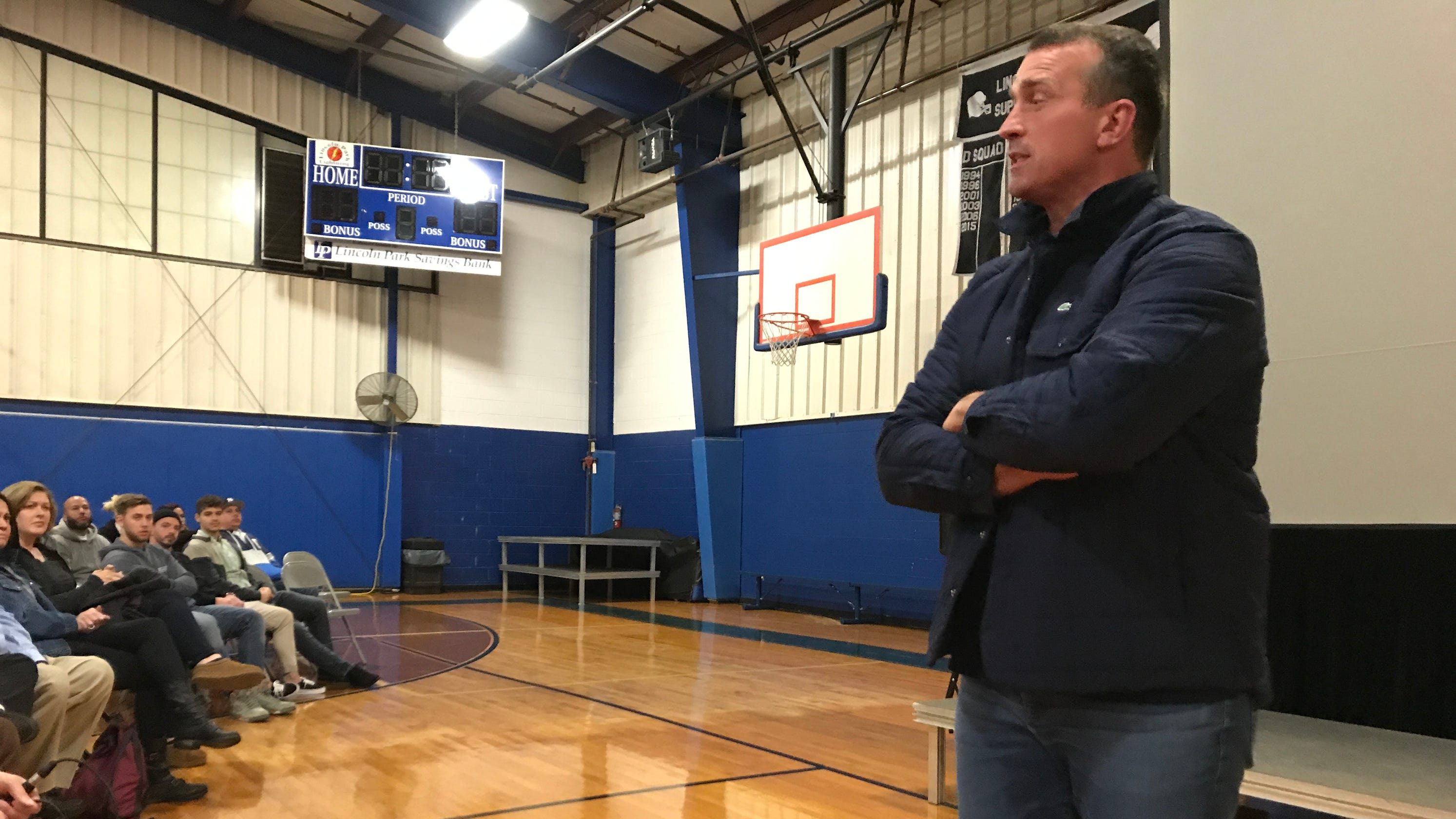 0c86fa0581d Chris Herren in NJ to tell addiction story that ended his NBA career