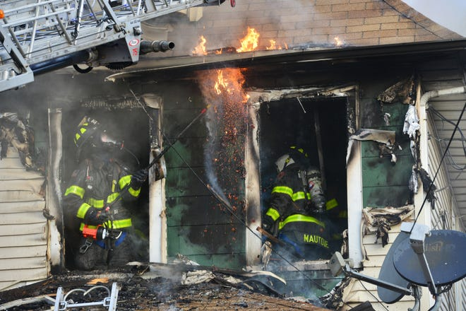 A 2nd Alarm fire caused severe damage to a single family home on 1st St in Clifton on Monday morning October 22, 2018. Only the family dog was home at the time of the fire, which bit a firefighter on the hand.