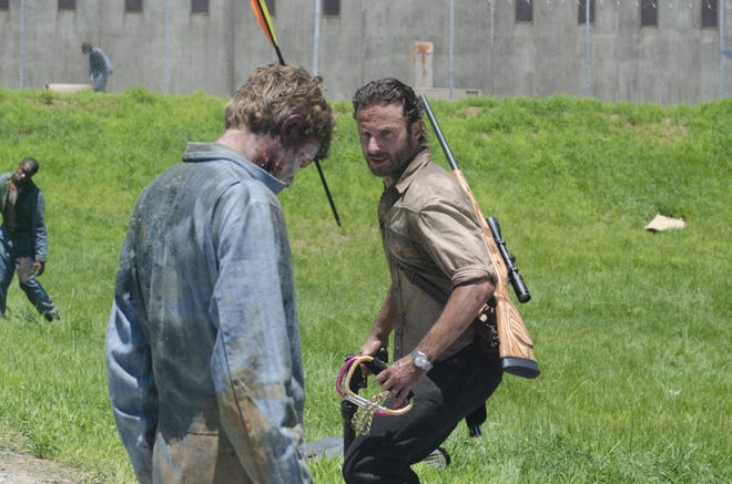 """Columnist Joe Phalon thinks it might be time for Rick Grimes (actor Andrew Lincoln, right) and his crew to find some endgame on """"The Walking Dead."""""""