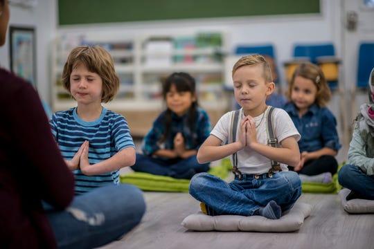 Mindfulness technique may also help children focus.