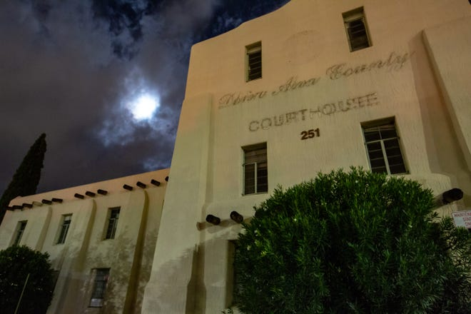 """Pictured is the abandoned Doña Ana County Courthouse and jail. The building is believed to be haunted and has been investigated by numerous organizations, including """"Ghost Adventures."""" Backhand Entertainment offers paranormal investigations at the location."""