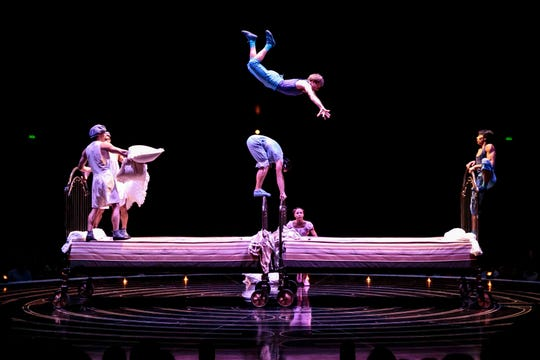 """""""Corteo,"""" Cirque du Soleil's arena production, will visit Rio Rancho at the Santa Ana Star Center from April 11 to 14, 2019."""