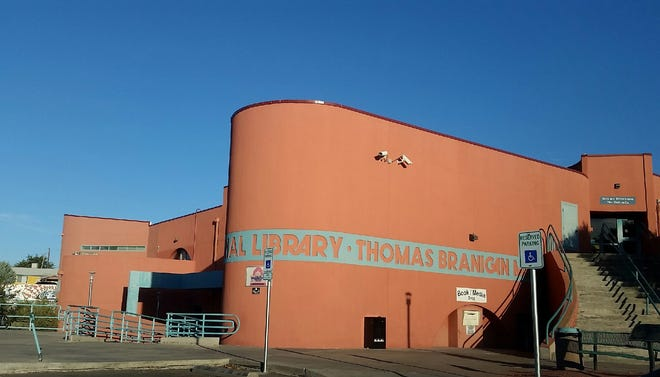 The Thomas Branigan Memorial Library is seen at 200 E. Picacho Ave., Las Cruces.