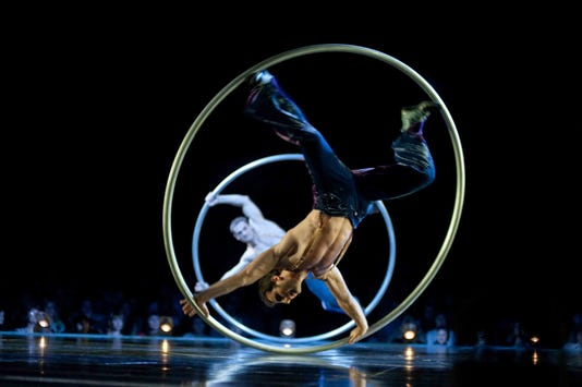 Cirque Du Soleil Corteo Cyr Wheel Lucas Saporiti Costumes Dominique Lemieux 2015 Cirque Du Soleil Photo 1