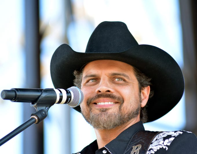Rick Trevino headlines the Las Cruces Country Music Festival on Sunday, Oct. 21, 2018.
