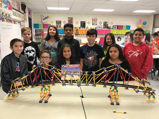 At Monterrey Elementary, students are staying after school to tackle STEM-based problems, solve design challenges with K'nex building sets and sharpen their science, technology, engineering and math skills at STEM Club.
