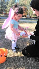 A fairy princess visited Wingfield Park at the Halloween Party last year.