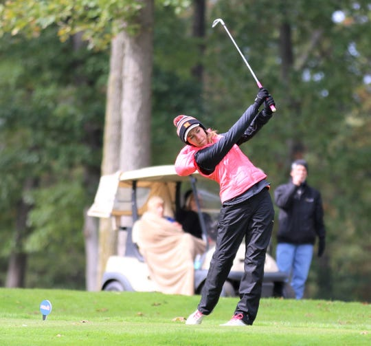 Katelyn Tokarz helped Northville capture its first-ever state girls golf crown.