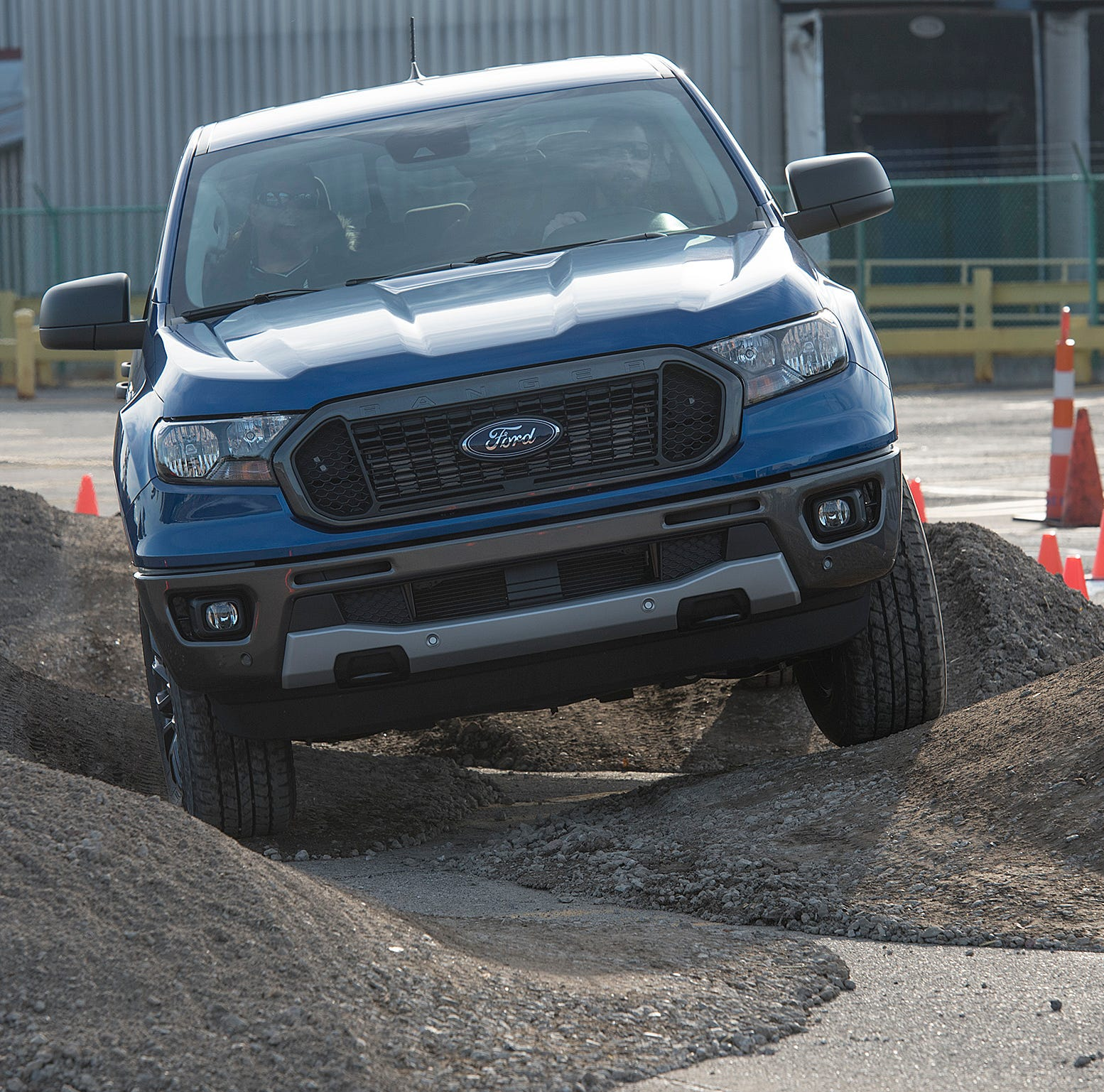 The new Ford Ranger, made in Wayne at the Ford Michigan Assembly Plant.
