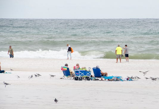 Red Tide Detected In Very Low Levels Off Pensacola Beach In Florida