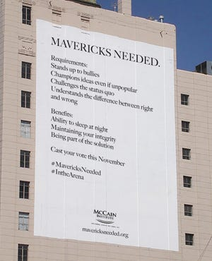 """The McCain Institute for International Leadership launches an initiative aimed at civic engagement, calling for people to be """"mavericks"""" in the spirit of the late U.S. Sen. John McCain's legacy."""