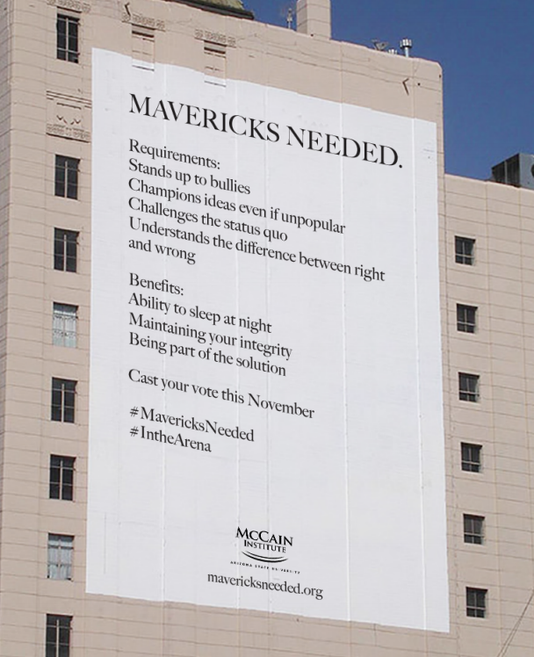McCain mavericks banner