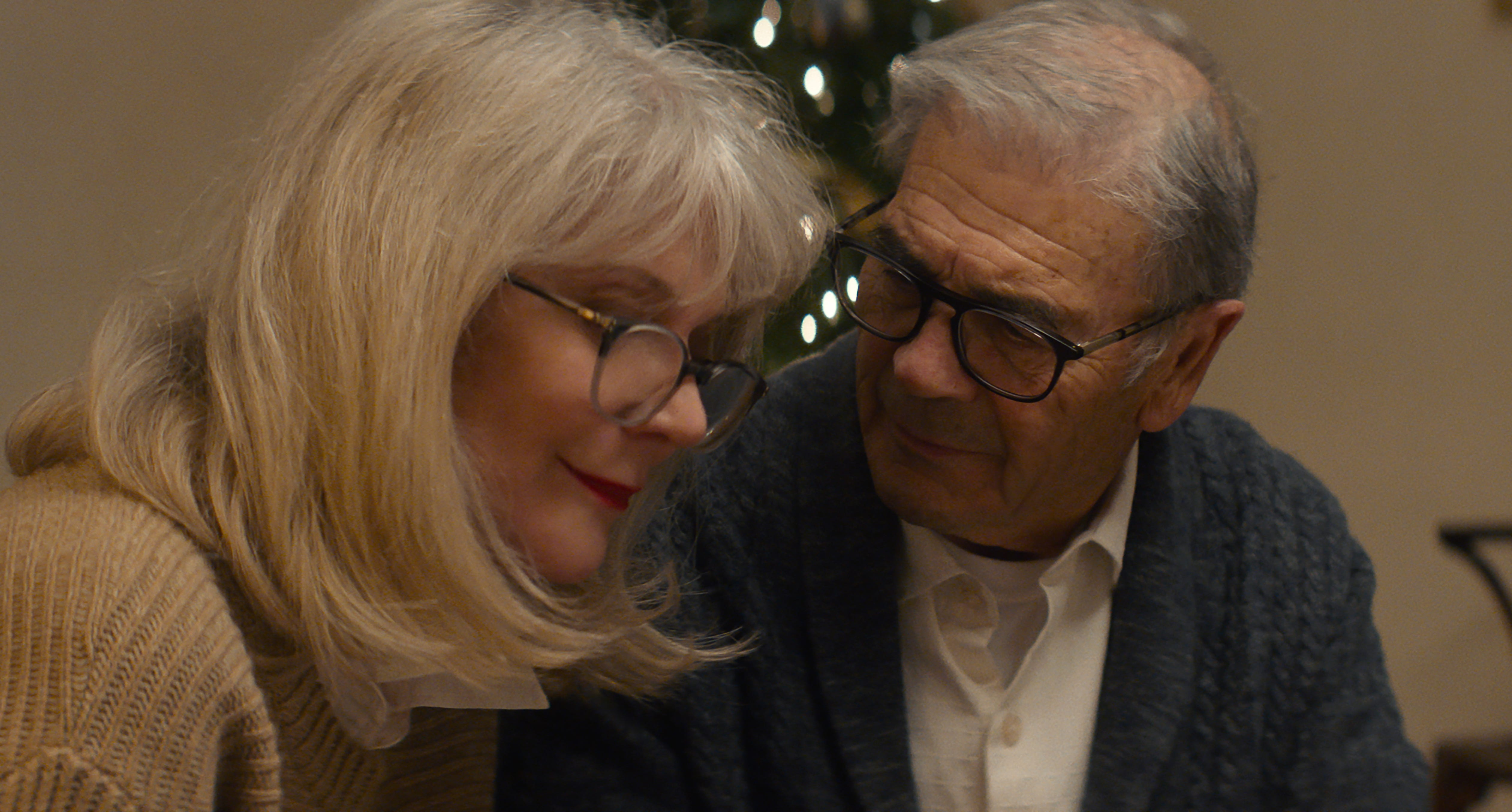 """Bert (Robert Forster, left) is Ruth's (Blythe Danner) loving and doting husband in """"What They Had."""""""
