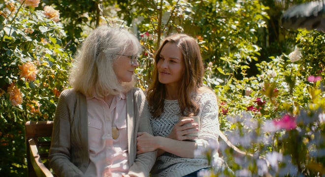 "Ruth (Blythe Danner, left) and her daughter Bridget (Hilary Swank, right) share a solid bond in ""What They Had."""
