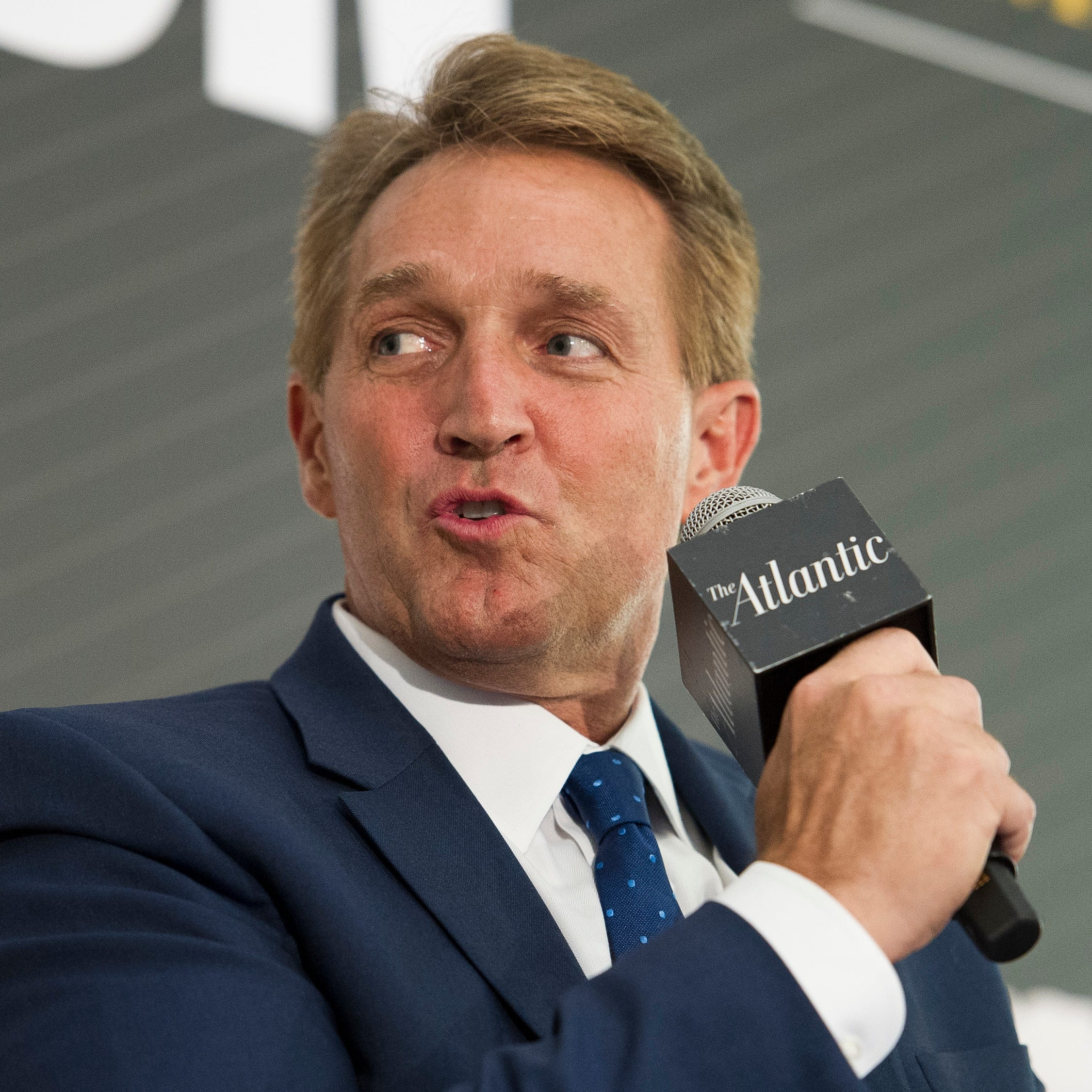 Jeff Flake explains why he calls out Trump but votes for his policies
