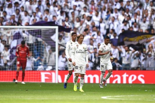 Real Madrid Cf V Levante Ud La Liga