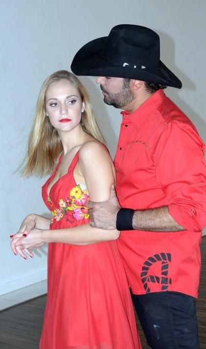 Carolina Van Wielink Y Pablo Montero Lavoz