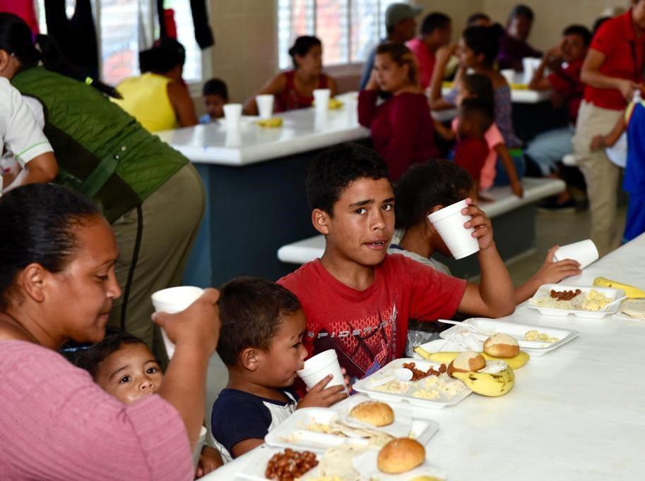 """Organizadores señalaron que tampoco acudieron a los albergues que la sociedad civil tiene para los migrantes en la localidad como """"Jesús El Buen Pastor"""", """"Todo por Ellos"""" y """"Belén"""", porque considerarlos pequeños e insuficientes."""