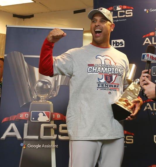 1 4 Medias Rojas Eliminan A Campeones Astros Y Jugar N La Serie Mundial