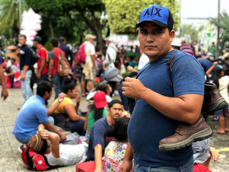 """Es una decisión de vida o muerte la que toman cada año miles de personas centroamericanas como las que ahora integran la """"caravana de migrantes hondureñas."""""""